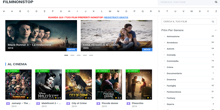 streaming film ita – the best sites to watch movies and TV shows for free