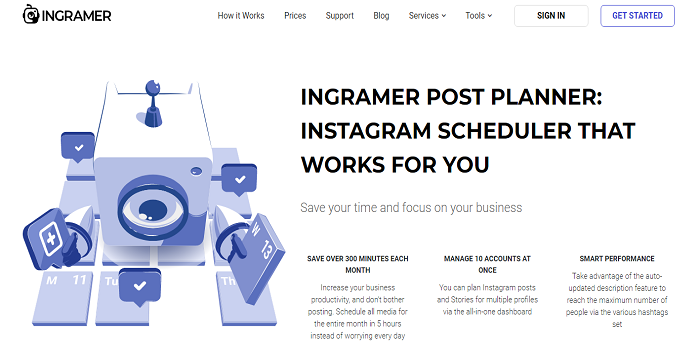 Schedule Instagram Photos For Free Via Postfity automatic instagram posting!