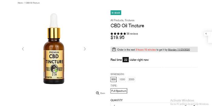 Zen CBD oil