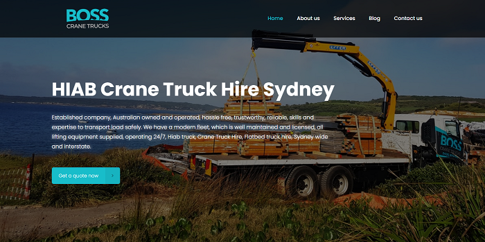 Superior earth moving services in Sydney | Crane Truck Hire Sydney